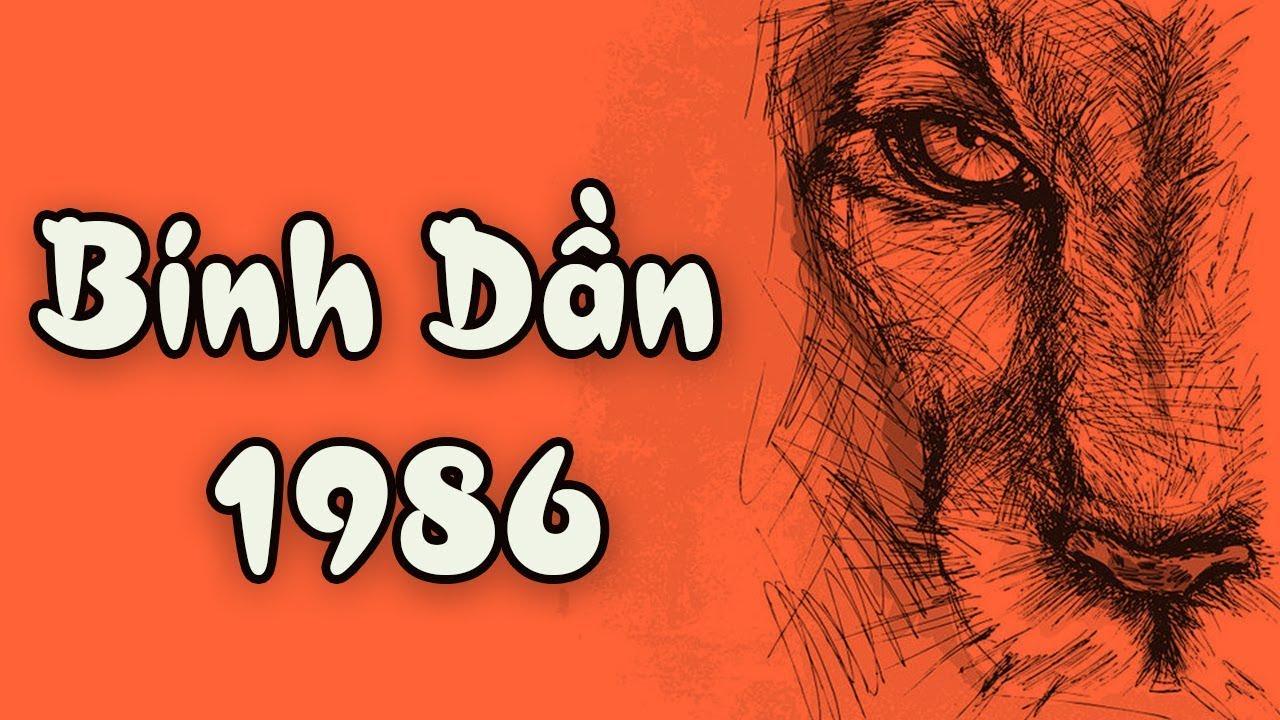 TỬ VI TUỔI BÍNH DẦN 1986 NAM MẠNG 2020